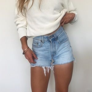 [Vintage] High-rise Levi's shorts